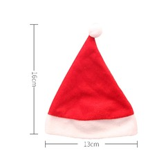 Cap Christmas Eve Apple Hats  Drink Bottle Decoration Hat Christmas Decoration For Home Banquet P