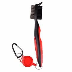 Sale Golf Club Brush Golf Groove Cleaning Brush 2 Sided Golf Putter Wedge Ball Groove Cleaner Kit