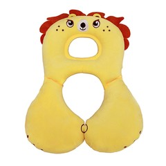 Animal Design Baby Kids U-shaped Pillow Car Safety Seat Cushion Travel Pillow For Newborn