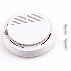 Alarm Fire Smoke Sensor Detector 85dB Photoelectric Monitor Home Security System for Family Guard