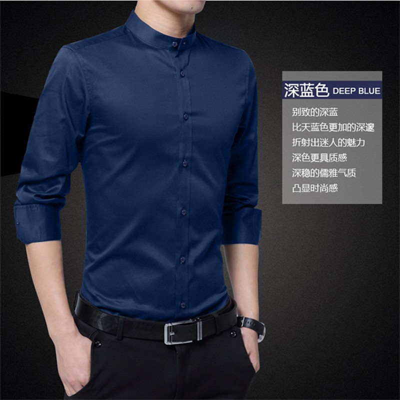7ccb5db73b4 Size 2018 Summer Korean Style Fashion Men Slim Clothes Formal Smart Casual  Dress Shirt  Product No  7471712. Item specifics  Seller SKU DsetGZdvkJn   Brand