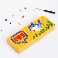 creative ABS building blocks student stationery box pupils childrens gifts prizes puzzle pencil b