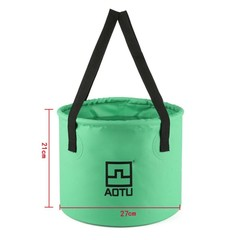 12L Collapsible Water Bucket Portable Lightweight Folding Water Container for Outdoor Fishing Cam