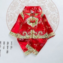 Baby Girls Boys Chinese Traditional Costumes Clothing Set Infant Spring Festival Wear New Year Ha