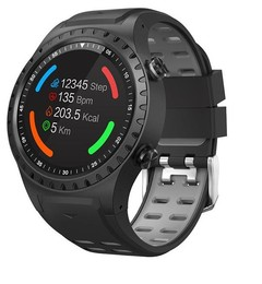 New Build-in GPS Compass Barometer Sport Bluetooth 4.0 color Smart Watch Support Sim Card heart r