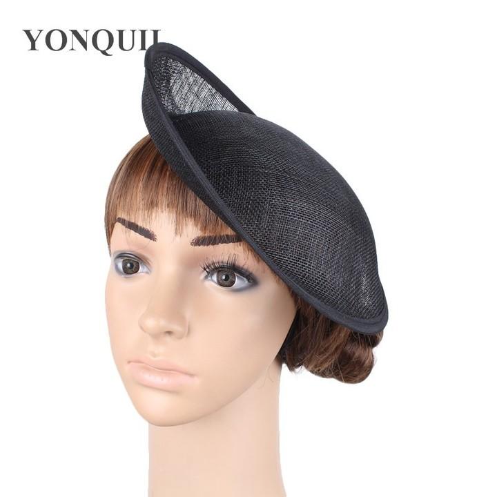c2c86fb9 Beige SINAMAY Fascinator Base 25CM DIY accessories Ladies Party Fascinator  Hat Base for women der
