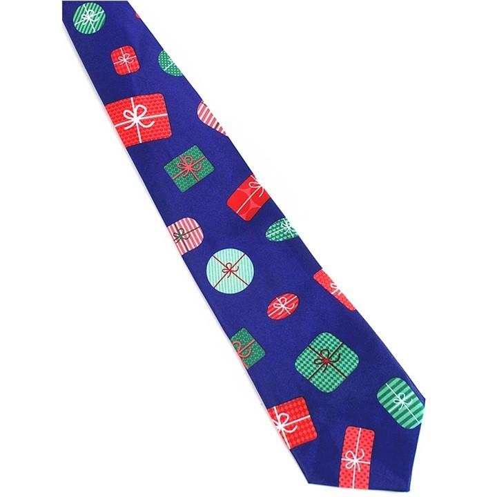 637b9ab5cfb8 9.5cm Christmas Necktie Ties for Mens Suits Skinny Neck Tie Gravatas Slim  Bowknots Cravat Christm