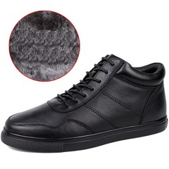 winter fashion fur boots small szie 36# men shoes European inner heels unisex sneakers plus size