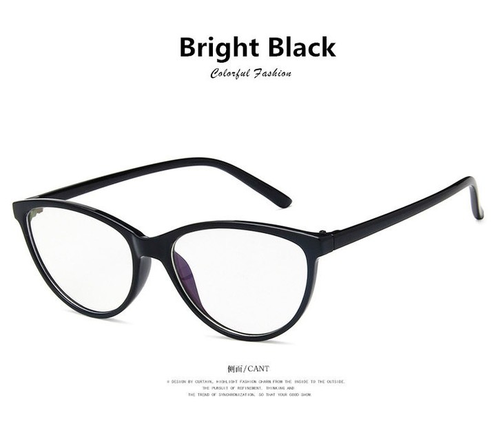 9d4638c0a971 Top Designer Hot Selling Cat Eye Glasses Retro Fashion Women Eyelasses Frame  Clear Lens Vintage L