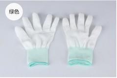 PU finger mitt coating coated nylon knitted electronic dust-free labor insurance dipped anti-slip