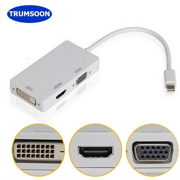 ThunderBolt Mini DisplayPort DP to displayport Adapter Cable For Macbook Pro f h