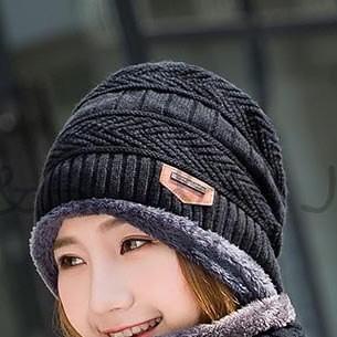 791f160720f Item specifics  Seller SKU qjBkjoZQXWo  Brand  Fashion Balaclava Knitted  Hat Scarf Neck Warmer Winter Thicken Hedging Cap knit Women Men Skullies  Beanie ...