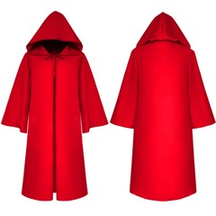 style Halloween costume death cloak medieval cloak for adults and children