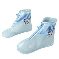 Size Kid Children Waterproof Outdoor Rain Shoe Cover Reusable Boots Overshoes Cartoon 8 Color