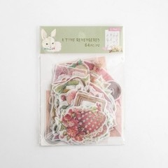 Journal Japanese Paper Flower Vintage Calendar Coffee Decorative Diary Cute Stickers Scrapbooking