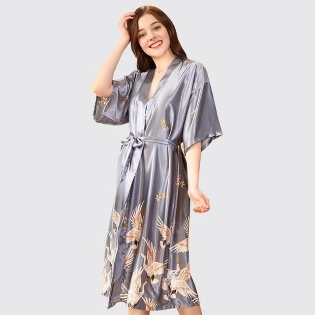 ... Night Robe Wedding Bride Bridesmaid Floral Bathrobe Pijama Sexy Bathrobe  Dressi  Product No  2960168. Item specifics  Seller SKU gmPqhRKZb4P  Brand  47d29f77f