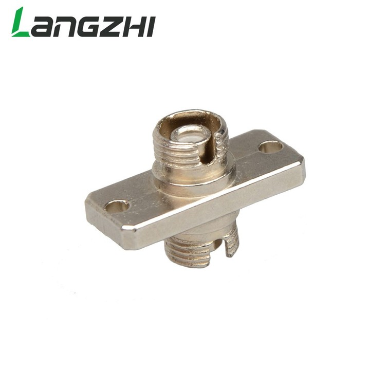 10PCS The telecommunication level FC square flange FC-FC optical fiber coupler adapter FC optical
