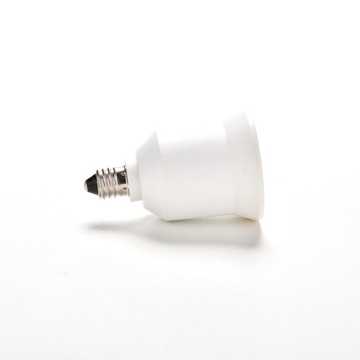 New E11 To E26/E27 White Lampholder Bulbs Converter Candelabra Light Base Socket Lamp Holder Conv