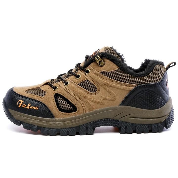 Size Men Women Hiking Shoes Winter Leather Outdoor Waterproof Hiking  Hunting Boots Man Mountain T 2ee13c485de0