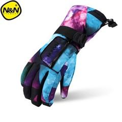 SNOW Ski gloves men women Keep warm Snowboard Gloves Motorcycle Winter Skiing Climbing Waterproof