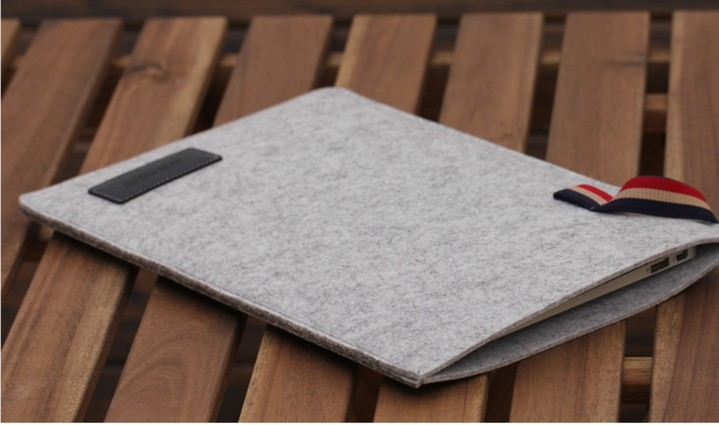 Cover Sleeve Pouch w/Elastic Band+Charger Bag for Ma.cbook 12@ Retina A1534