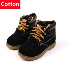 Winter Children Sneakers Martin Boots Cotton Plush  Kids Shoes Boys Girls Snow Boots Casual Shoes