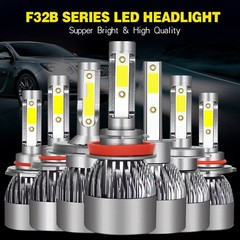 Headlights H4 h7 h11 Drive Modification Accessories Far And Near Light Front LED Headlights Auto