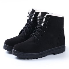 Boots 2018 Heels Winter Boots New Arrival Women Ankle Boots Women Shoes Warm Fur Plush Insole Sho