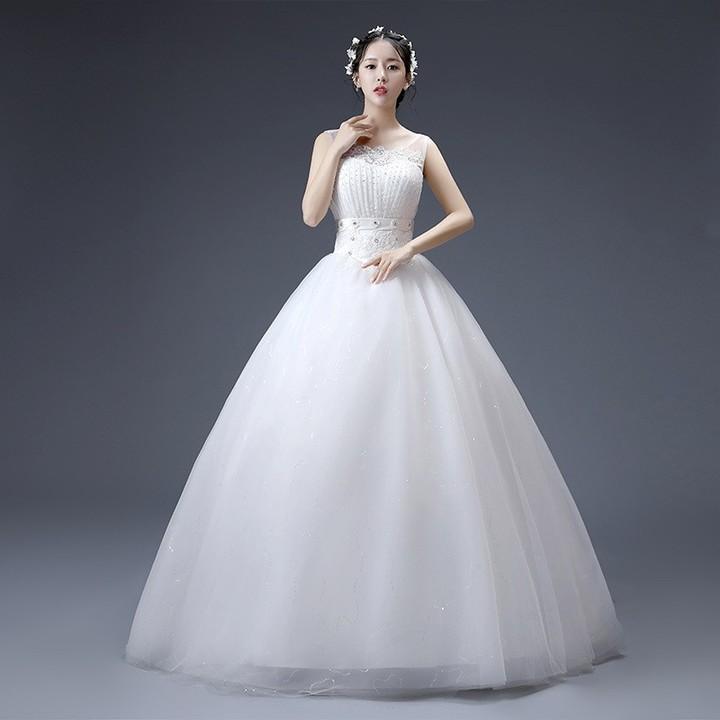 d4b42cb1be 2018 Cheap Stock White Lace Wedding Dresses Beaded Lace Up Bridal Gowns  Vestido De Novia QA1483