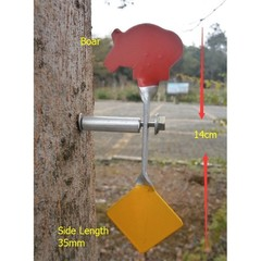Visible Spinner 3-mm Steel Targets Screwed-type Steel Plinking Target For Paintball, lead Pellet