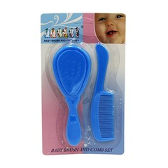 Baby Soft Safety Hair Care Brush Infant Children Massage Small Soft Comb Brush Combination Set