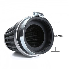 4Pcs High Performance Racing Universal Motorcycle Air Filter 54mm
