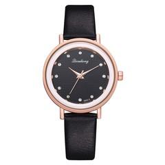 2019 Clocks Women Luxury Quartz Watch girl Ladies Black Classic brand Wrist Watch Kadin Saatleri