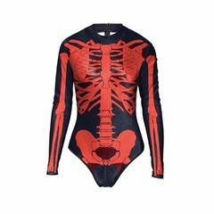 Halloween Scary Skeleton Skull Joker Costume for women vampire Muscle Swimsuit nurse Cosplay Zent