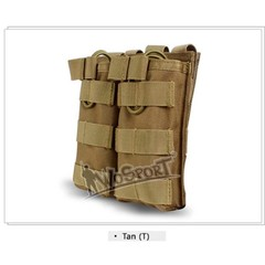 Airsoft Military 1000D Nylon Molle Double Magazine Pouch Mag Pouch Utility Vest Storage Bags for