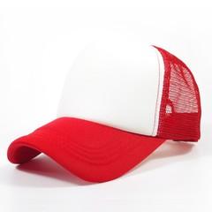 Women Men Baseball hat Breathable Sunscreen Multi-color Optional Solid Color Mesh Golf Cap For Fo