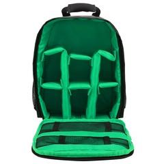 Waterproof Functional DSLR Backpack Camera Video Bag Rain Cover SLR Tripod Case PE Padded for Pho