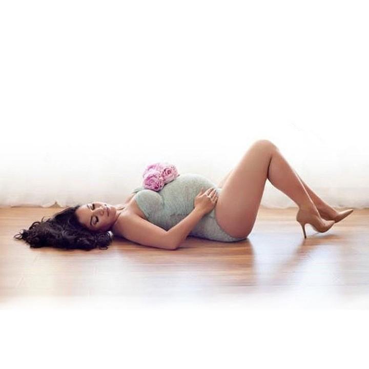 Photography Props Lace Pregnant Women Clothes Photography Maternity Clothes Summer Maternity Gown