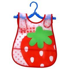 Baby Bibs EVA Plastic Waterproof Lunch Feeding Bibs Baby Cartoon Feeding Cloth Children Baby Apro