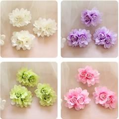 Cute Hair Clips Elegant Fashion Flower Hair Pin Clip Bridal Bridesmaid Hairband Wedding Party Hai