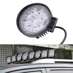 New LED Work Light 27W 12V High Power LED Offroad Light Round Off road LED Work Light Flood Light