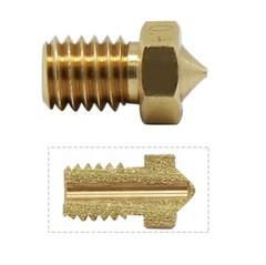 V5 V6 Nozzle For 3D Printers 0.2 0.25 0.3mm 0.35 0.4mm 0.5 0.6 0.8 1.0 Part Copper 1.75mm Filamen