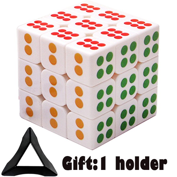 Stand Free Gift 3x3x3 MoYu Cubo Megico 3*3*3 Smooth Speed Puzzle Magic Cube Toys for Kids with Cu
