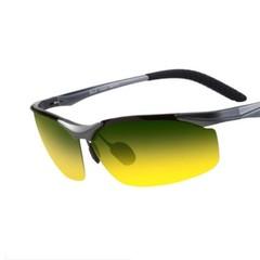 New Day and night Aluminum magnesium polarized sunglasses male leisure Sport fishing eyewear ride