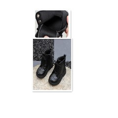 Leather big children in the British childrens Martin boots  boys and girls  cotton boots