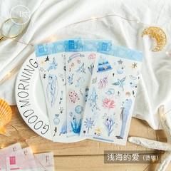 Scenery Theme Paper Sticker Gift DIY Kawaii Scrapbooking Sticky Stationery Bullet Journal Sticker