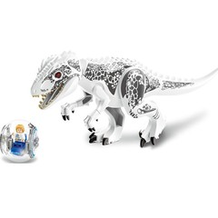Jurassic Dinosaur World Tyrannosaurs Rex Compatible with Lego Model Building Blocks Toy for Child
