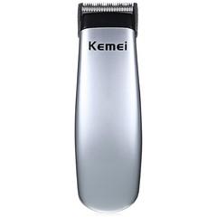 KM-666 Portable Hair Clipper Electric Cordless Mini Hair Trimmer Professional Razor Beard Trimmer