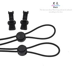 Lock Lace A Pair Of Locking Shoe Laces Elastic Sneaker Shoelaces Shoestrings Running/Jogging/Tria