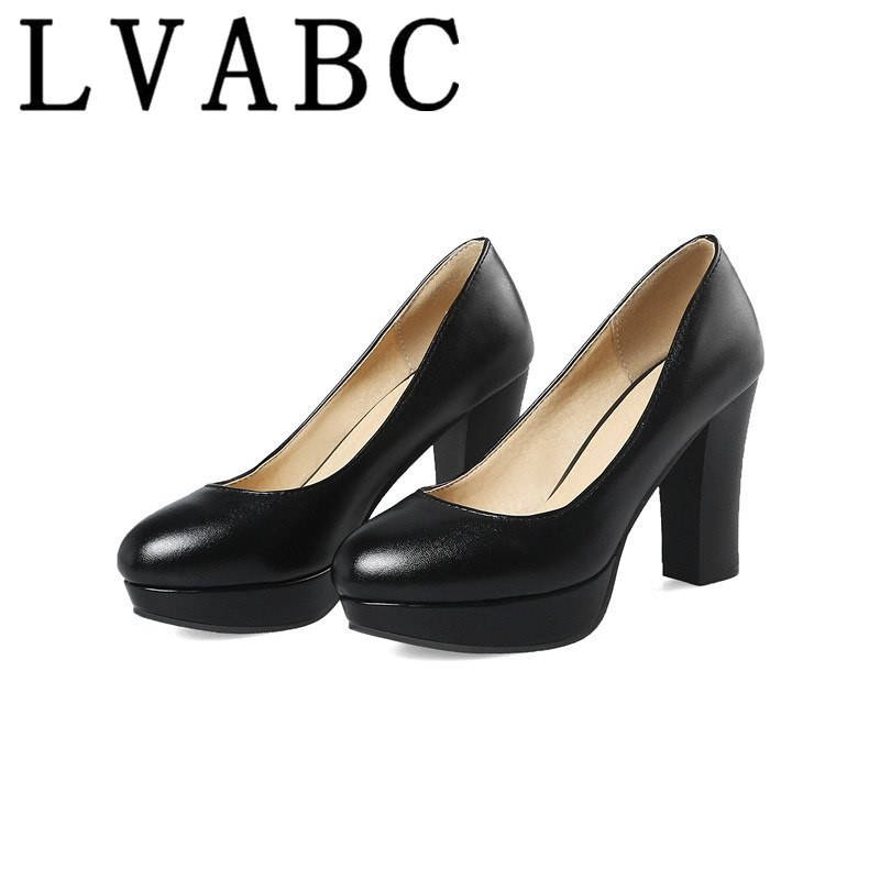 2701210d82a Women High heels Spring Autumn New Single shoes Simple Shallow Sexy ...